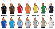 Load image into Gallery viewer, Storm Fantasy Tultex Women's Pocket Tee