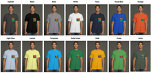 Load image into Gallery viewer, art-by-novik - The Gift of Sunset USA Men's Pocket Tee - tshirts
