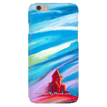 Load image into Gallery viewer, Phone Case Sacred Art Expressionist Landscape by Novik - Red Church #3
