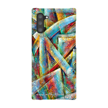 Load image into Gallery viewer, Phone Case Abstract Art by Novik - Space Map