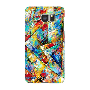 Phone Case Abstract Art by Novik - Unknown System