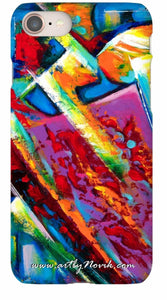 ship to France Custom Novik phone case art order