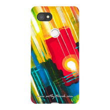 Load image into Gallery viewer, Phone Case Abstract Art by Novik - Lightning Ball
