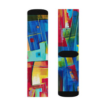 Load image into Gallery viewer, art-by-novik - Mechanical Romance Sublimation Socks - All Over Prints