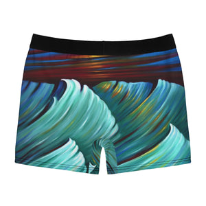 art-by-novik - Very First Storm Men's Boxer Briefs - All Over Prints