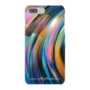 Phone Case Abstract Art by Novik - Through the Glow