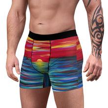 Load image into Gallery viewer, art-by-novik - Red Sunset Men's Boxer Briefs - All Over Prints