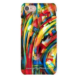 Phone Case Abstract Art by Novik - Turbulence of Ideas