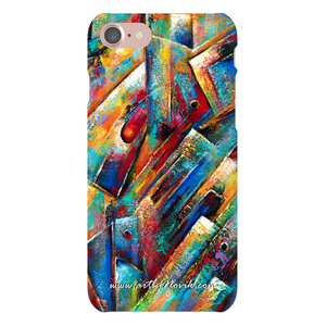 Phone Case Abstract Art by Novik - Space Collection