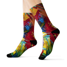Load image into Gallery viewer, art-by-novik - Watching Symbols Sublimation Socks - All Over Prints