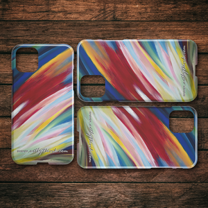 Phone Case Abstract Art by Novik - Impact $