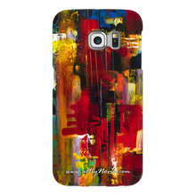 Load image into Gallery viewer, Phone Case Abstract Art by Novik - Masquerade