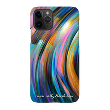 Load image into Gallery viewer, Phone Case Abstract Art by Novik - Through the Glow