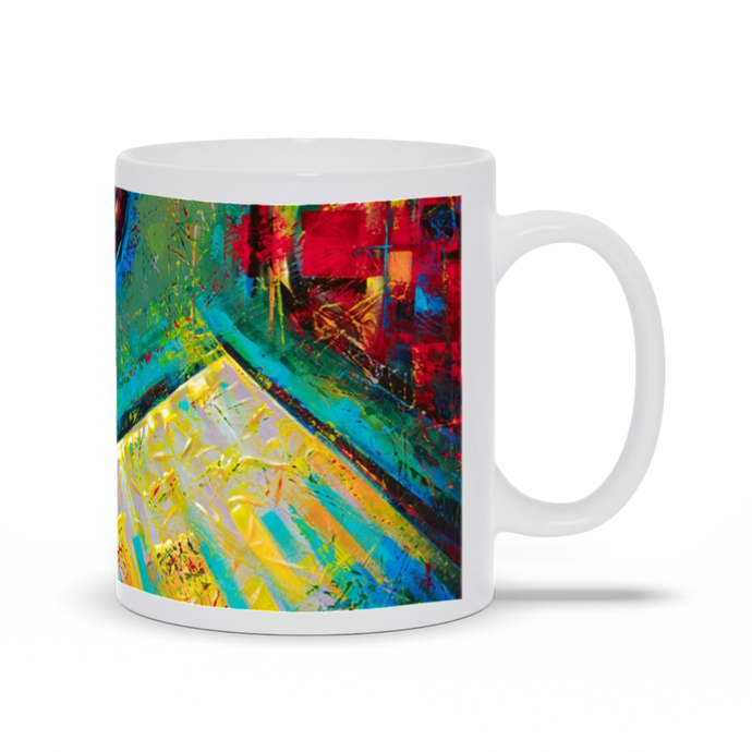 art-by-novik - Key to Paradise Mug -
