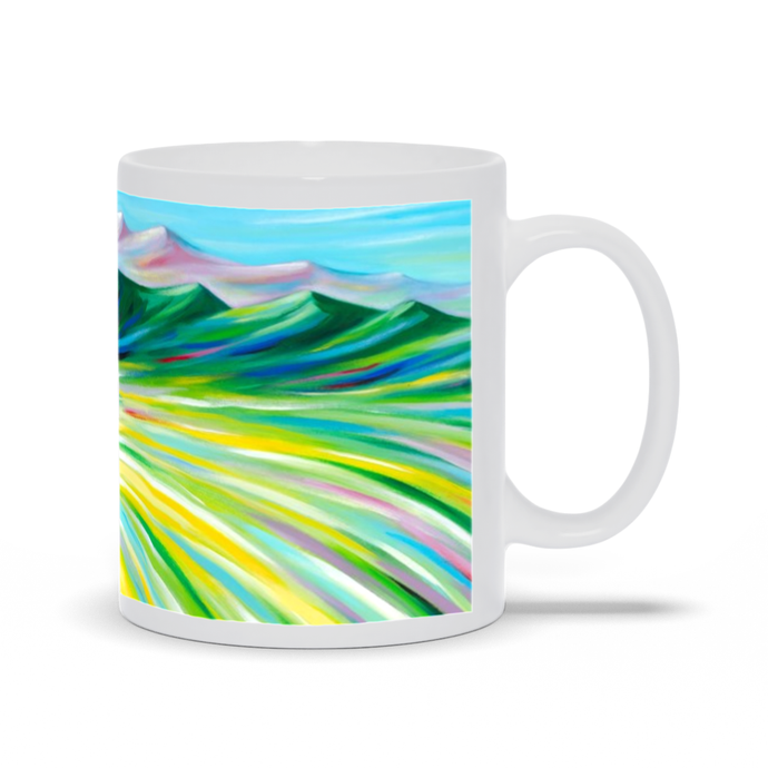 art-by-novik - Hunter's Paradise Mug -