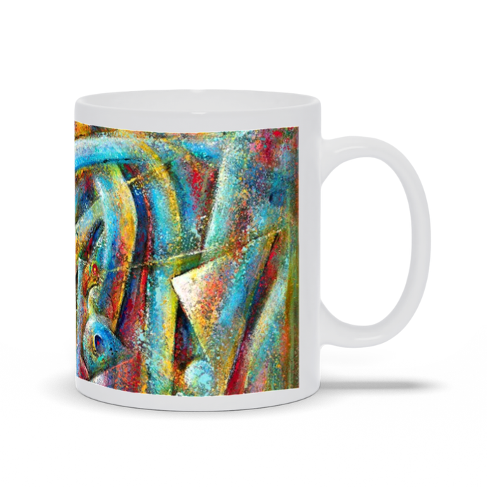 art-by-novik - Space Map Mug -