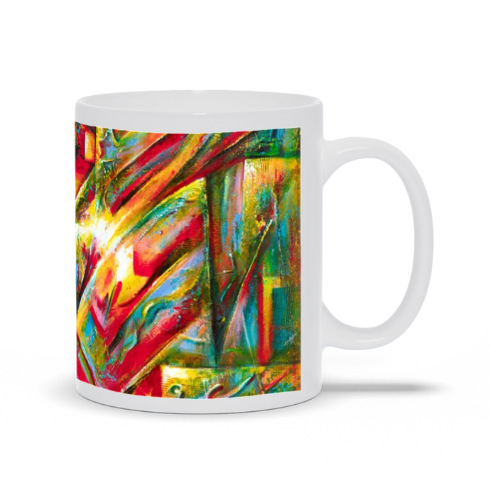 art-by-novik - The Birthplace of Fire Mug -