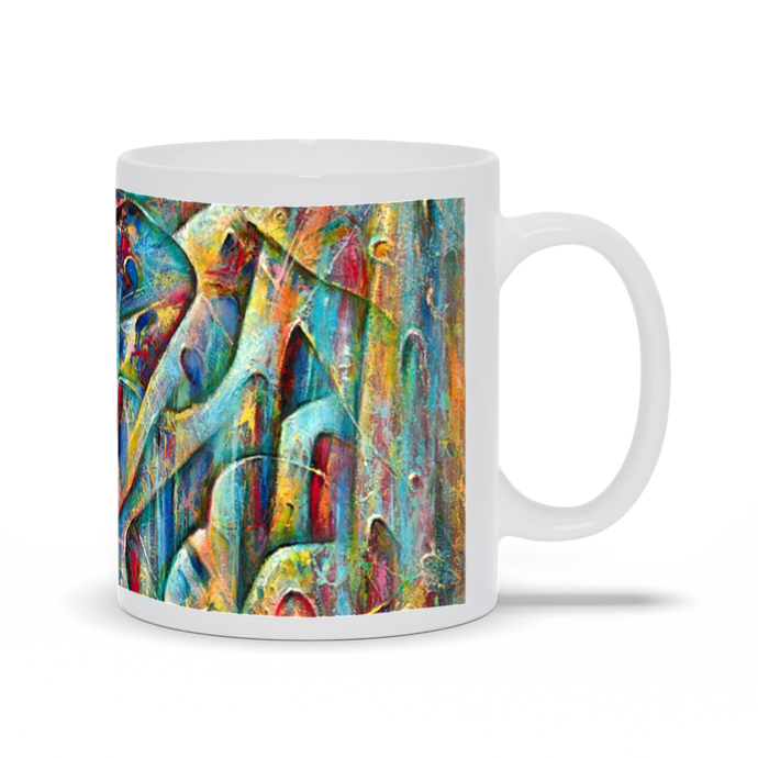 art-by-novik - Wonder World Mug -