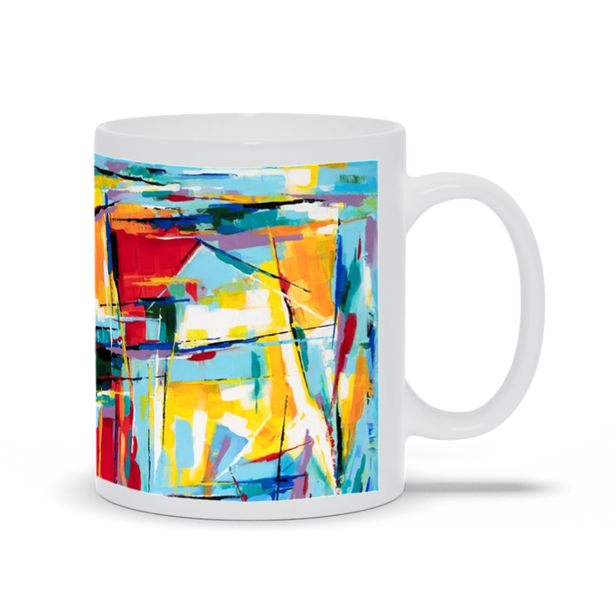 art-by-novik - Demonstration Mug -