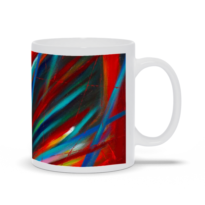 art-by-novik - Through Each Other Mug -