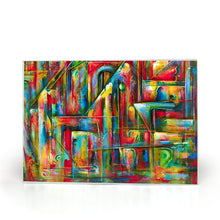Load image into Gallery viewer, art-by-novik - Secret Entrance Glass Cutting Board (8X11) -