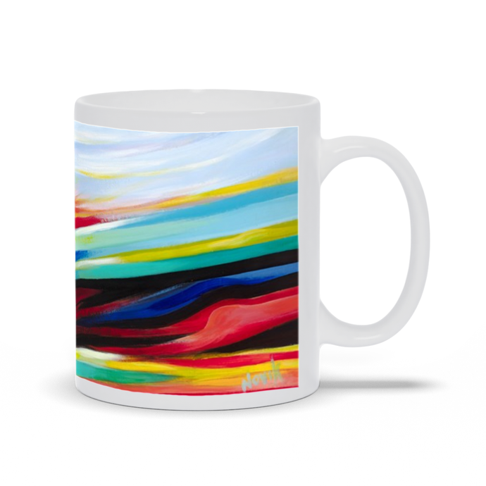 art-by-novik - Landscape in Dreams Mug -