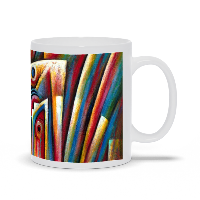 art-by-novik - Pearl Born Mug -