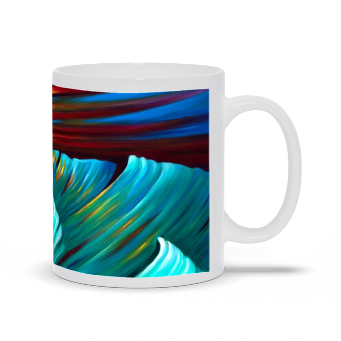art-by-novik - Very First Storm Mug -