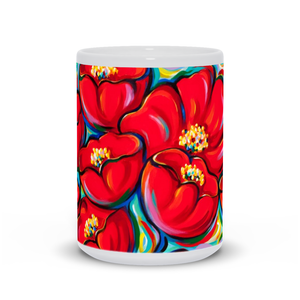 art-by-novik - Red Company Mug -