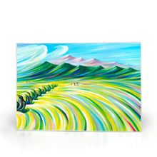 Load image into Gallery viewer, art-by-novik - Hunter's Paradise Glass Cutting Board (8X11) -