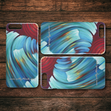 Load image into Gallery viewer, Phone Case Ocean Waves Water Expressionist Art by Novik - Storm from the Future $