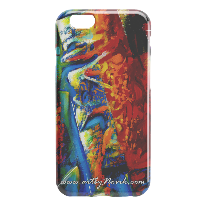 Phone Case Abstract Art by Novik - Legend #2 $