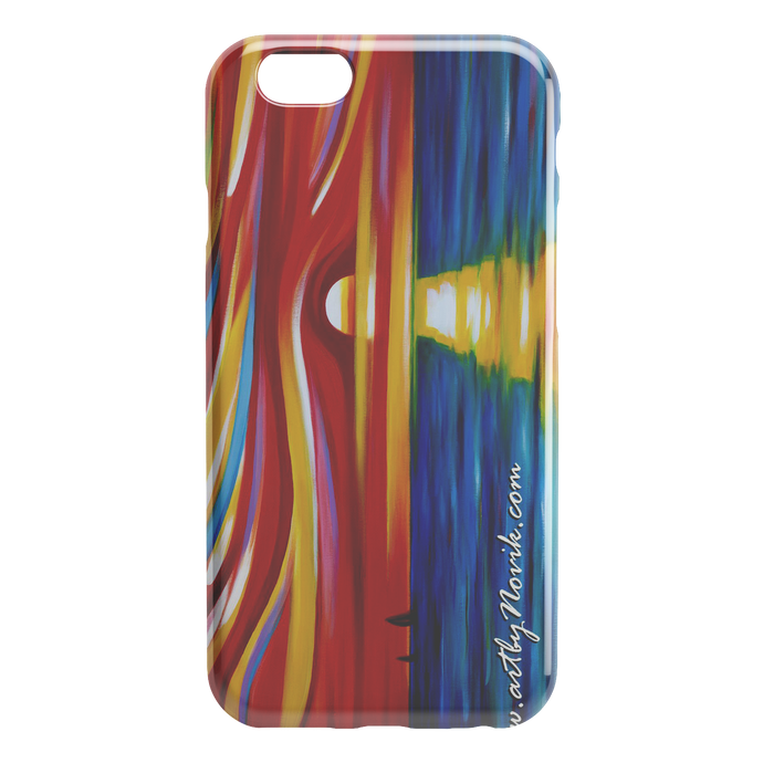Phone Case Ocean Water Waves Sunset Expressionist Art by Novik - The Gift of Sunset $