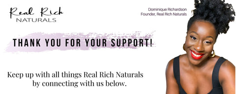 Connect with Real Rich Naturals