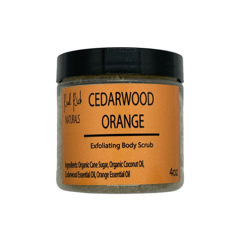 Cedarwood Orange Body Scrub