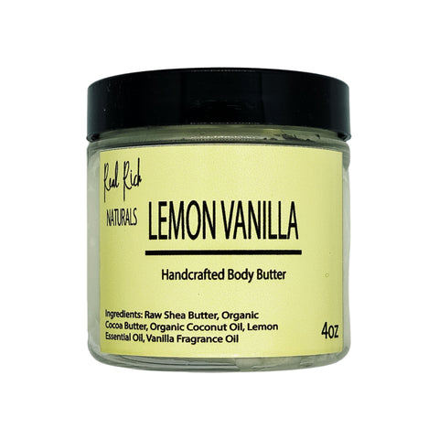Lemon Vanilla Body Butter