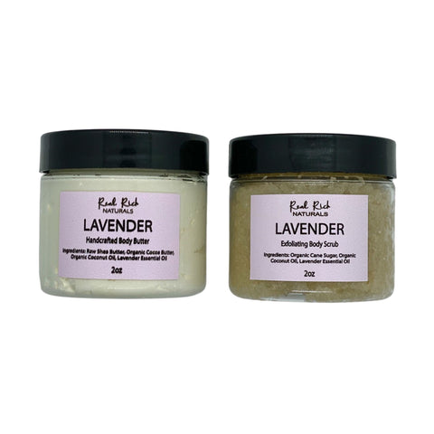 Sample Set -  Body Butter & Body Scrub