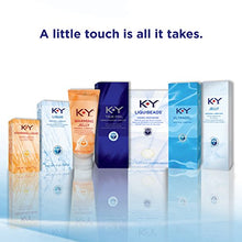Load image into Gallery viewer, K-Y Jelly Premium Water Based Lube- Personal Lubricant Safe To Use With Latex Condoms, Devices, Sex Toys and Vibrators, 4 oz., Pack of 2