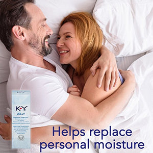 K-Y Jelly Premium Water Based Lube- Personal Lubricant Safe To Use With Latex Condoms, Devices, Sex Toys and Vibrators, 4 oz., Pack of 2