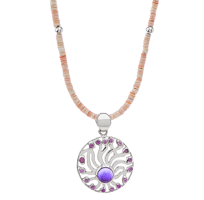 Magnetic Fusion Silver Necklace