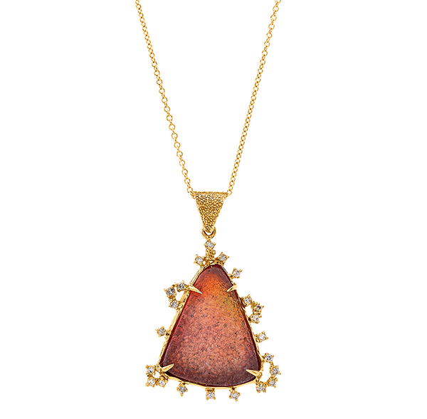 Golden Sunset Gold Necklace