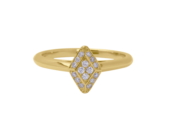 The Drift Gold Ring