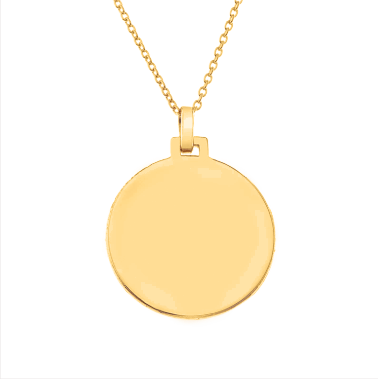 Let Go Of Your Pain Gold Medallion