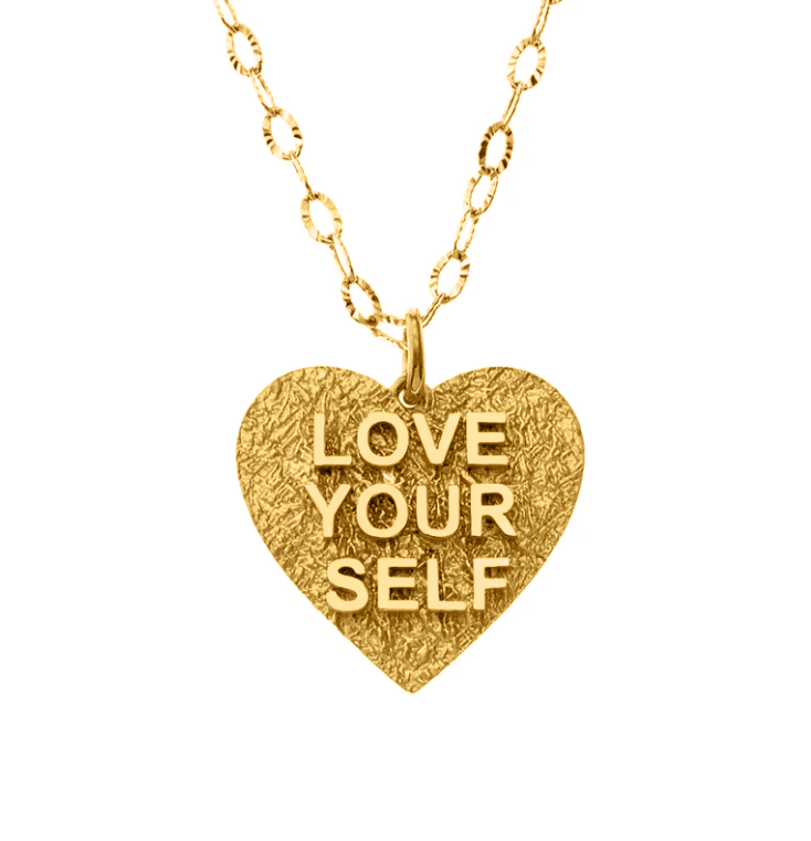 Love Yourself Gold Necklace