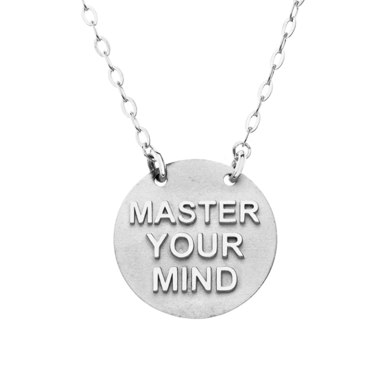 Master Your Mind Gold Necklace