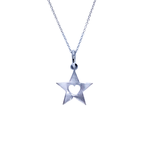 Mini Sterling Silver Twinkle Necklace