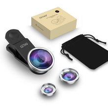 Load image into Gallery viewer, 3 in 1 Wide Angle Macro Fisheye Lens Kit