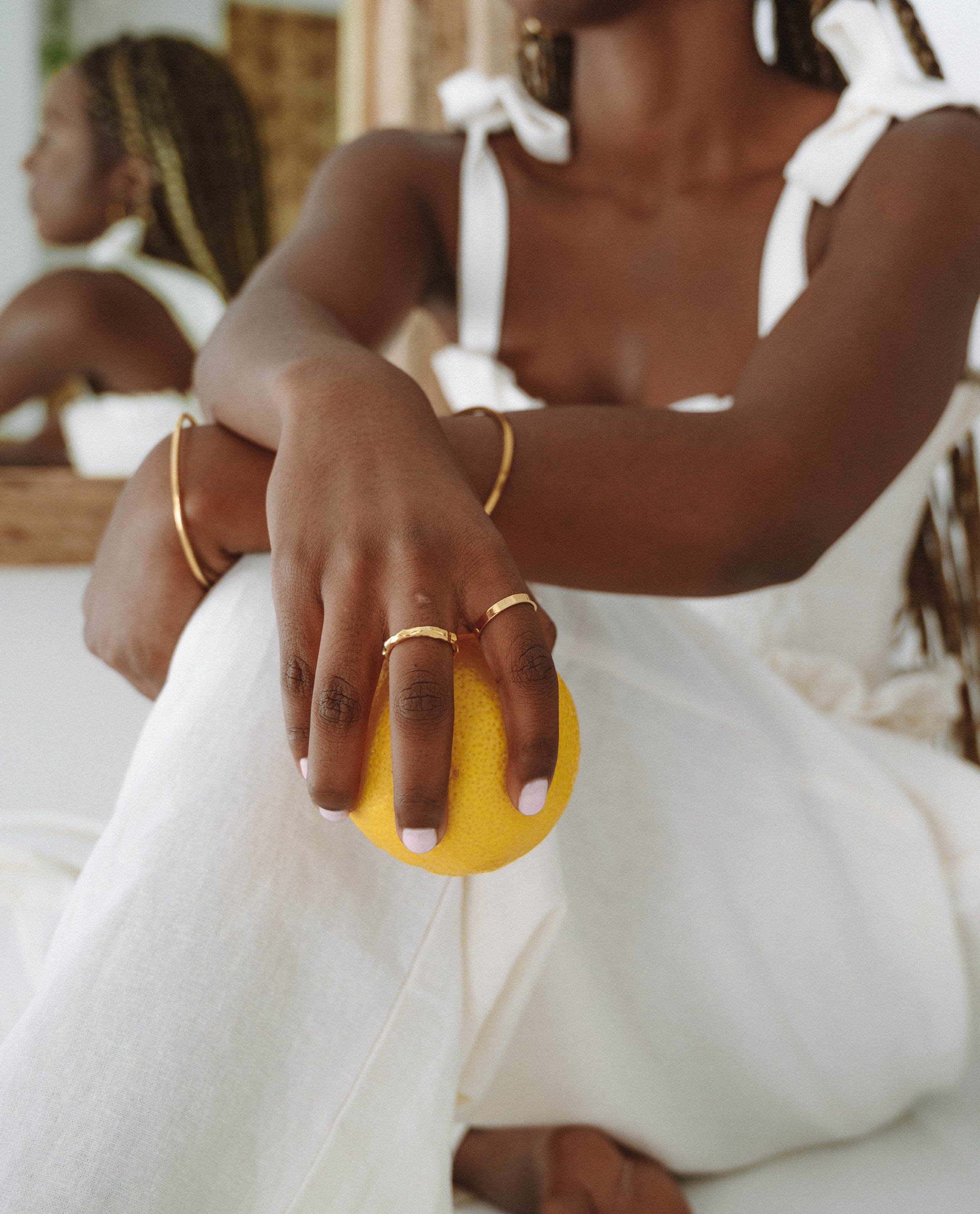 Gold jewellery handmade sustainably and ethically on the Sunshine Coast