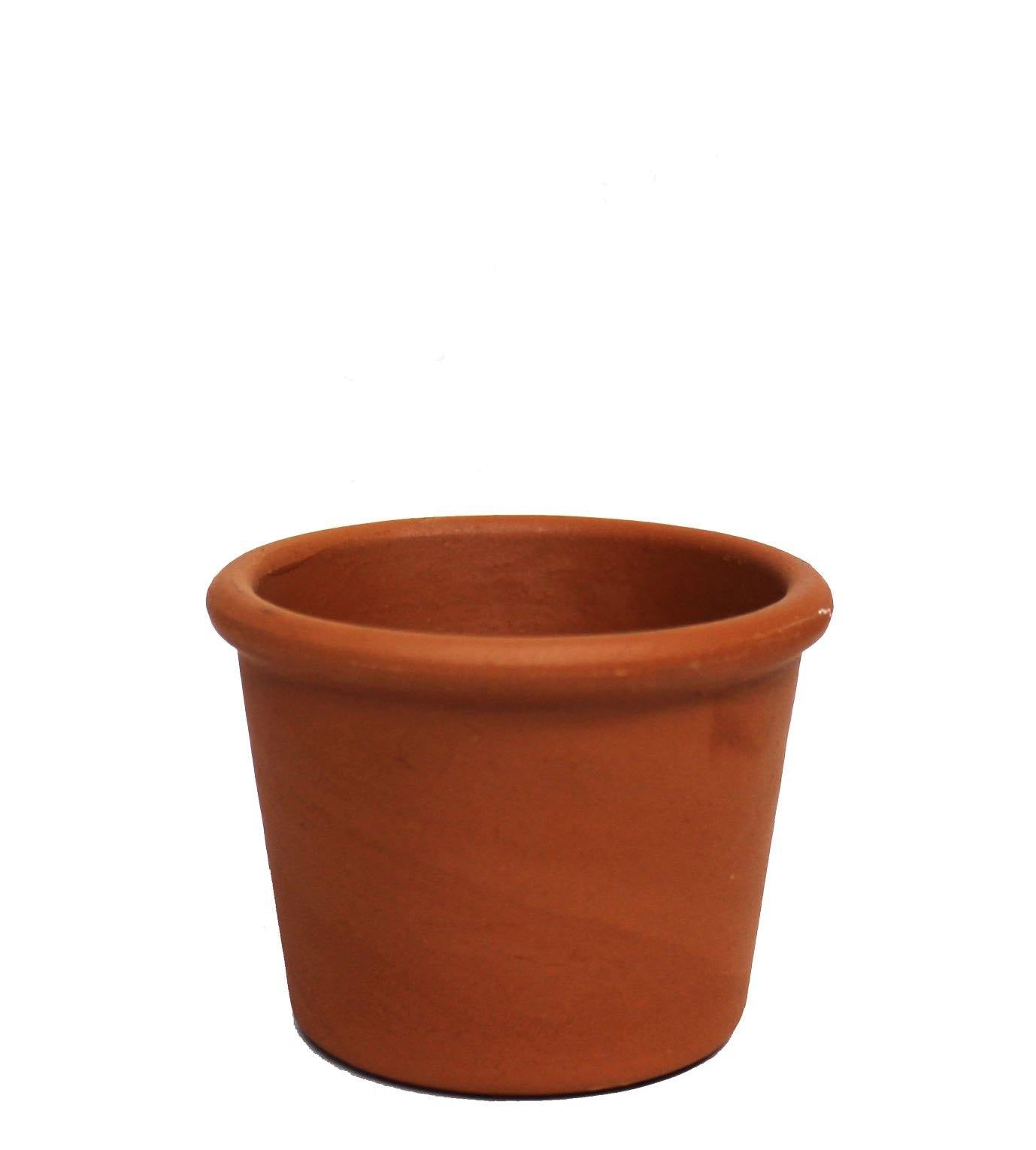 Round Clay Pot - Geoponics Inc