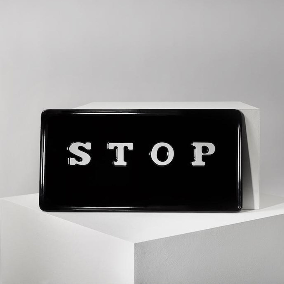 Cornelia Parker Limited Edition Stop Sign